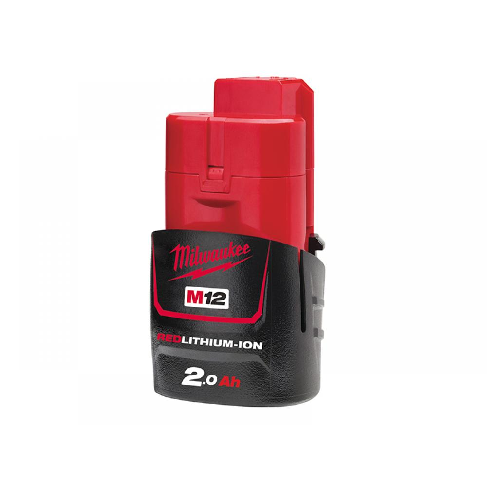 Milwaukee M12 B2 REDLITHIUM-ION Battery 12V 2.0Ah Li-ion