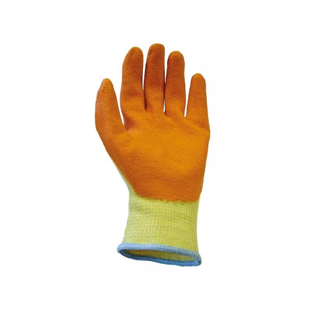 Scan Knitshell Latex Palm Gloves - Large (Size 9) (Pack 12)