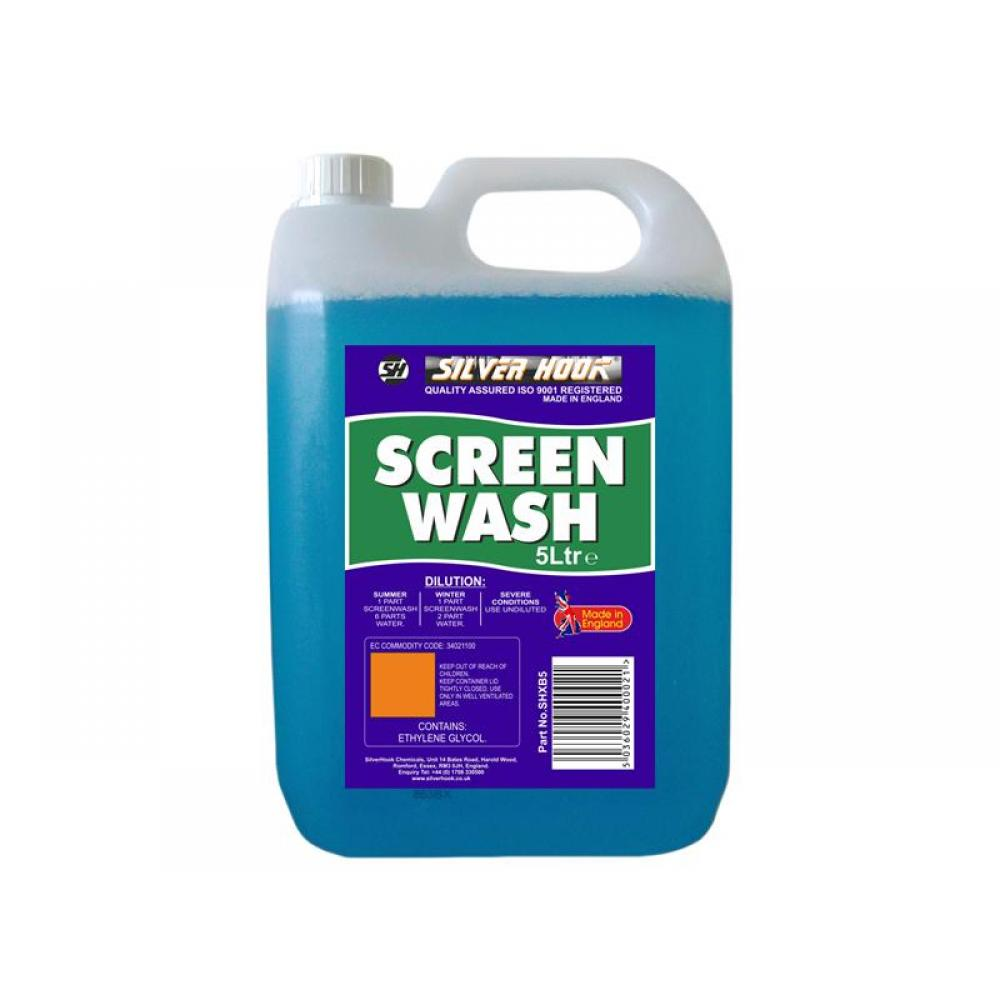 Silverhook Concentrated All Seasons Screen Wash 5 Litre