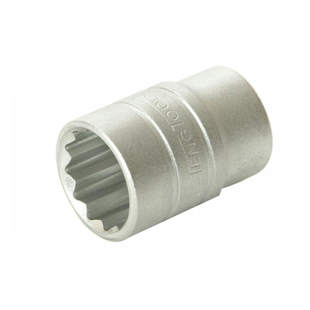 Teng Tools Bi-Hexagon Socket 12 Point 1/2in Drive 24mm