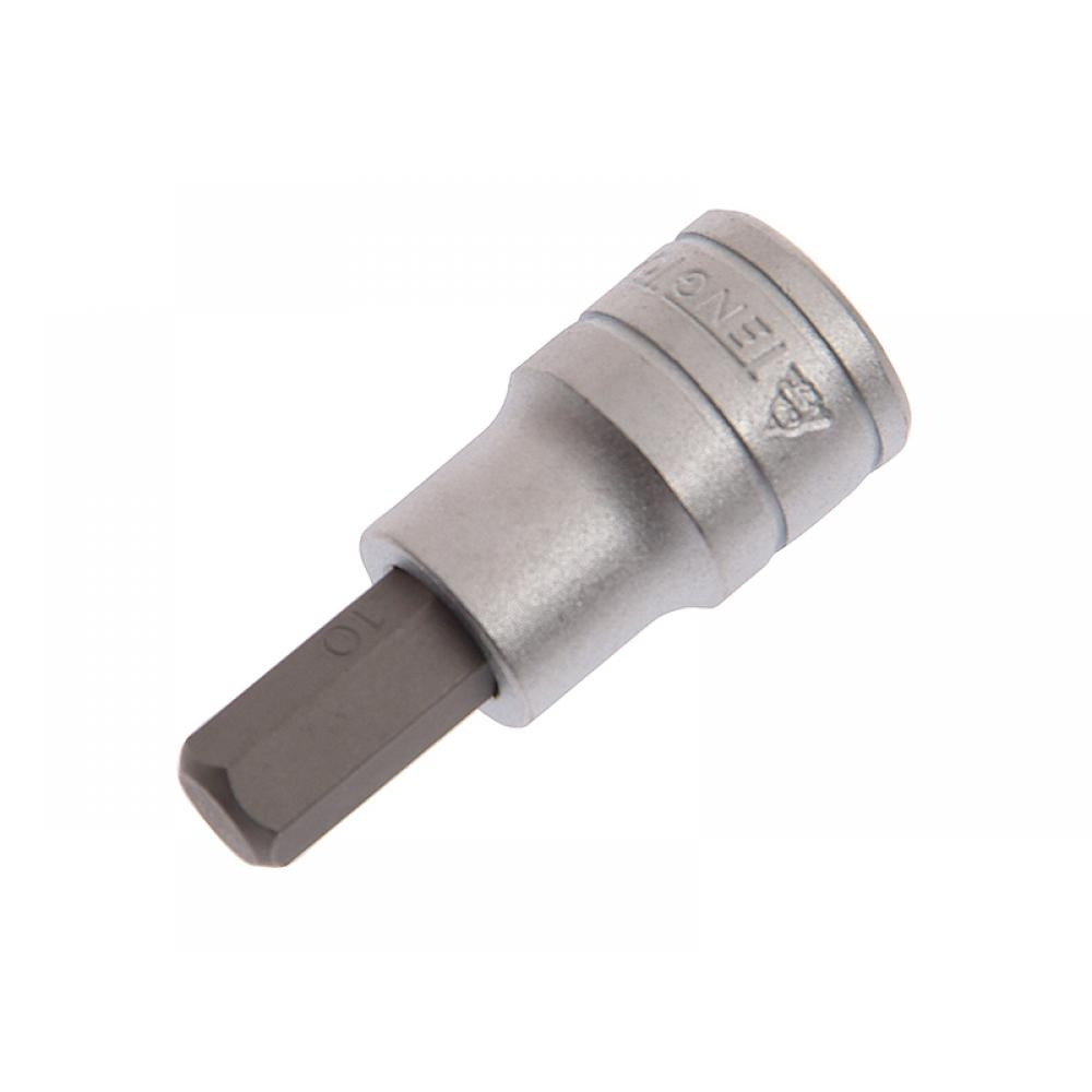 Teng Tools Hexagon S2 Socket Bit 1/2in Drive 10mm