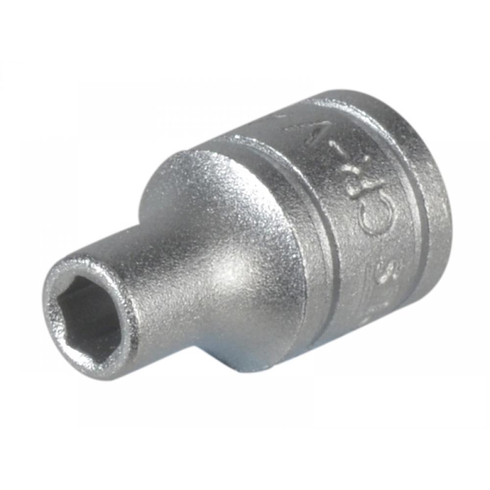 Teng Tools Hexagon Socket 6 Point Regular 1/4in Drive 5mm
