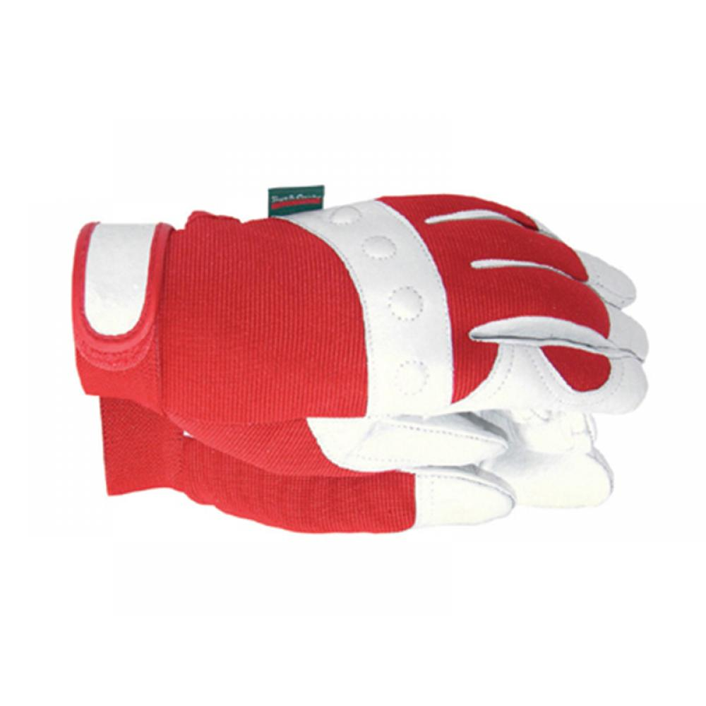 Town and Country TGL104M Comfort Fit Red Gloves Ladies - Medium