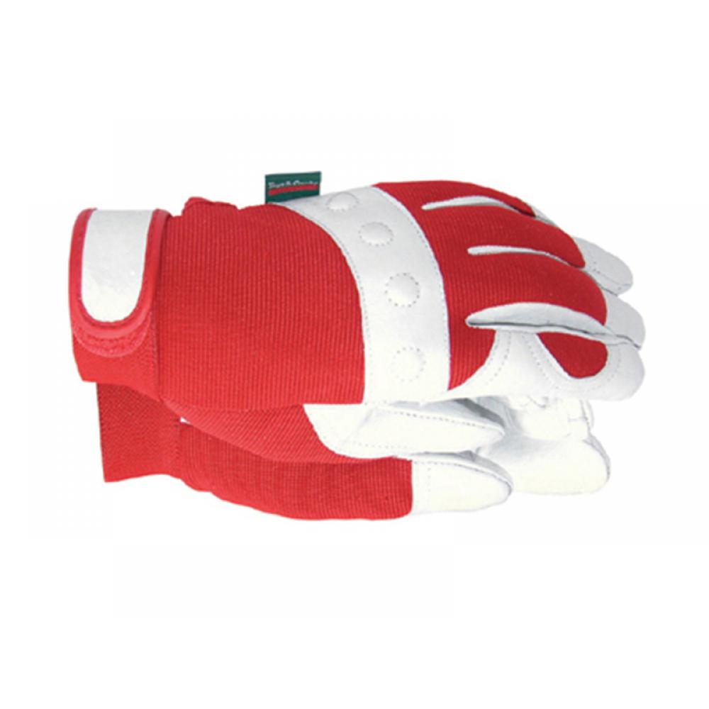 Town and Country TGL104S Comfort Fit Red Gloves Ladies - Small