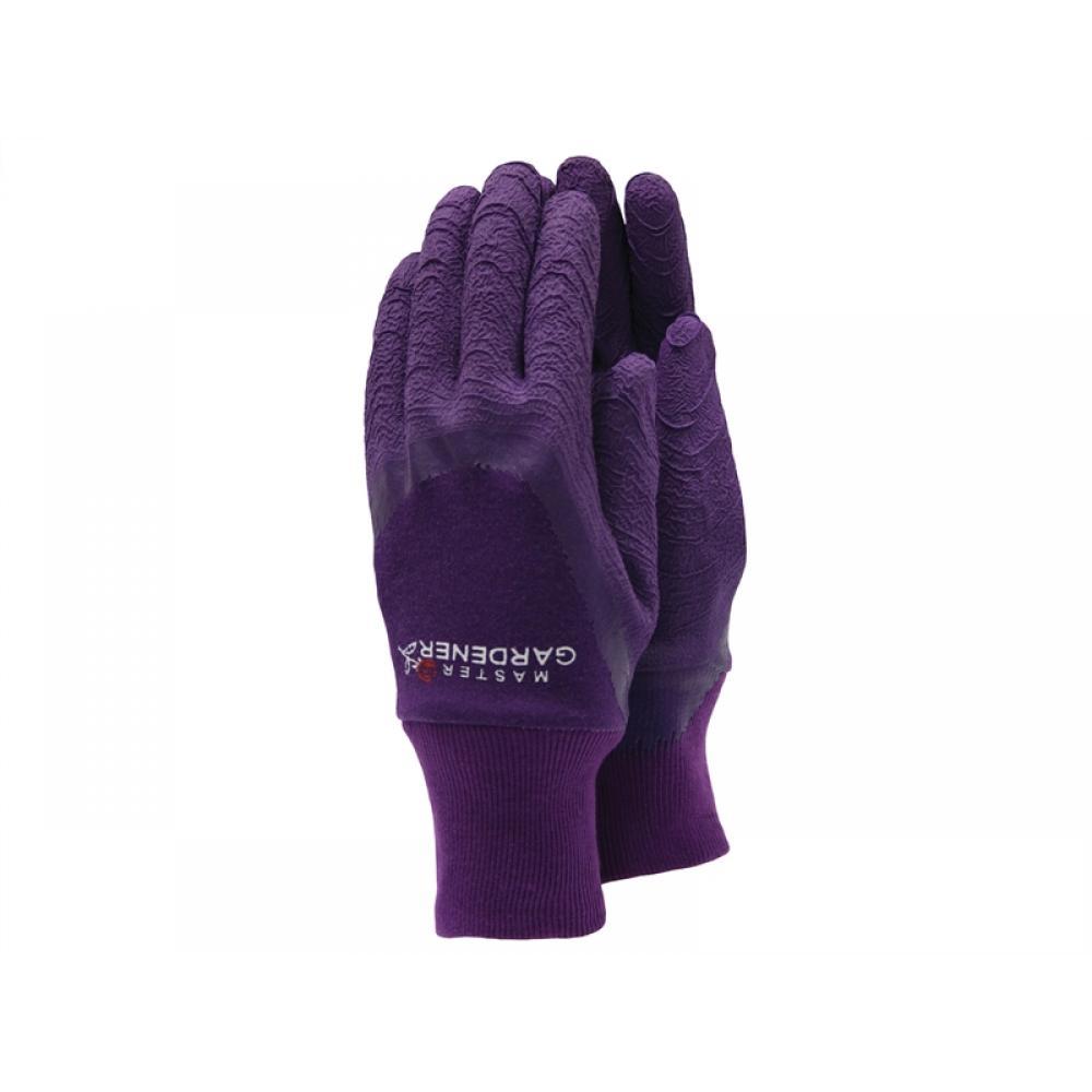Town and Country TGL272M Master Gardener Ladies Aubergine Gloves - Medium