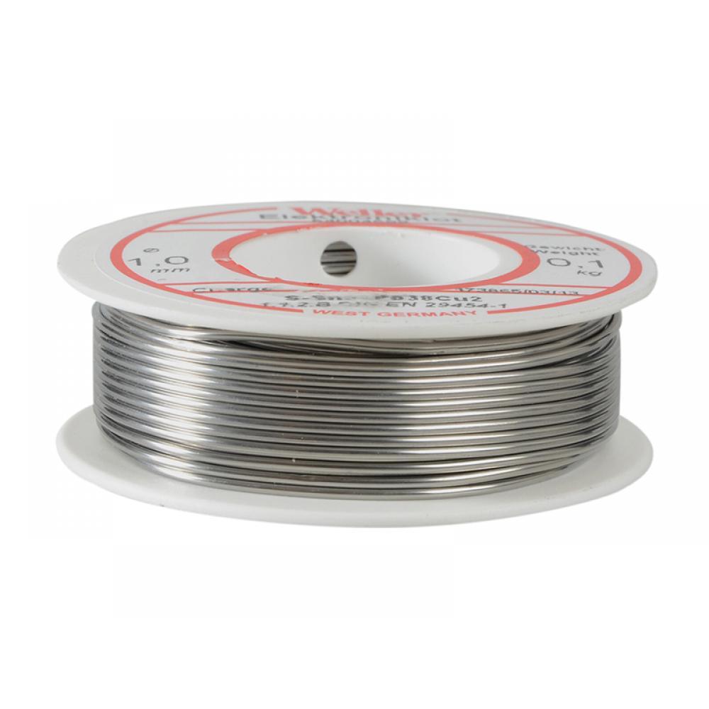 Weller EL60/40-100 Electronic Solder Resin Core 100g