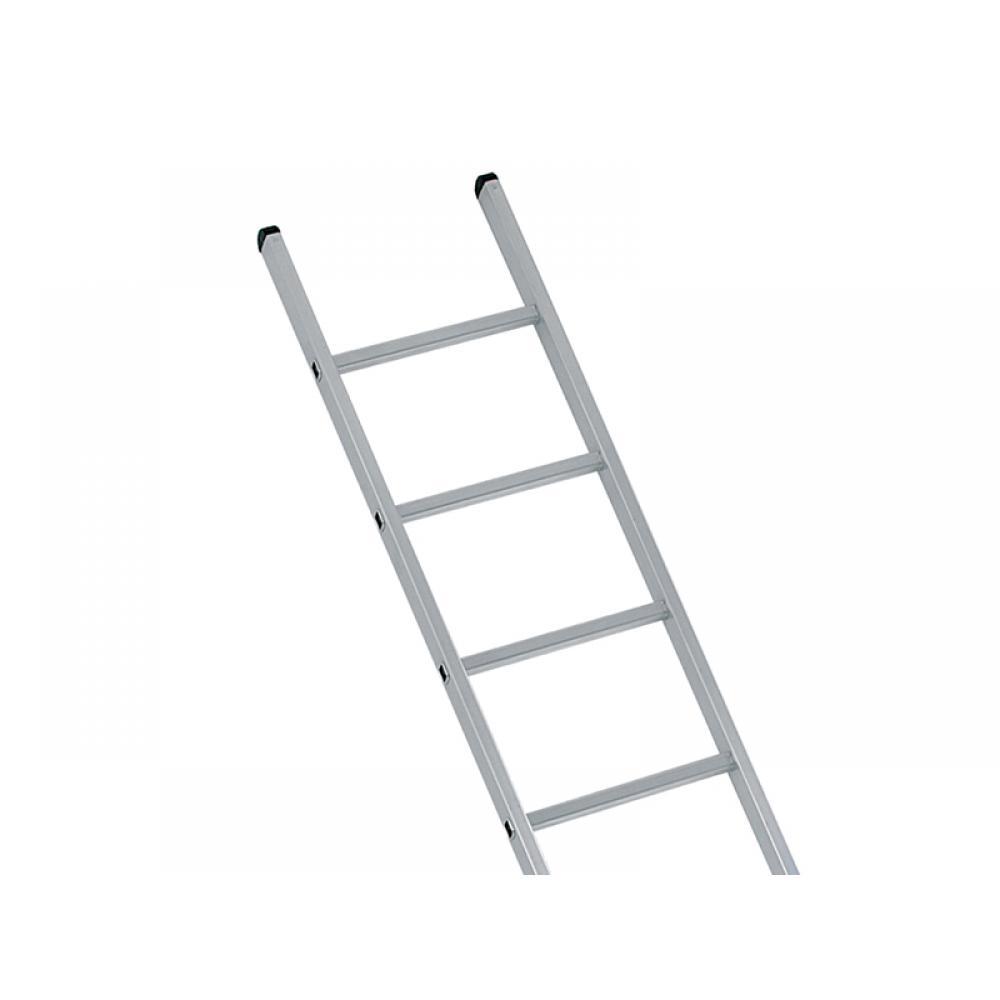 Zarges Industrial Single Aluminium Ladder with Stabiliser Bar 3.05m 10 Rungs