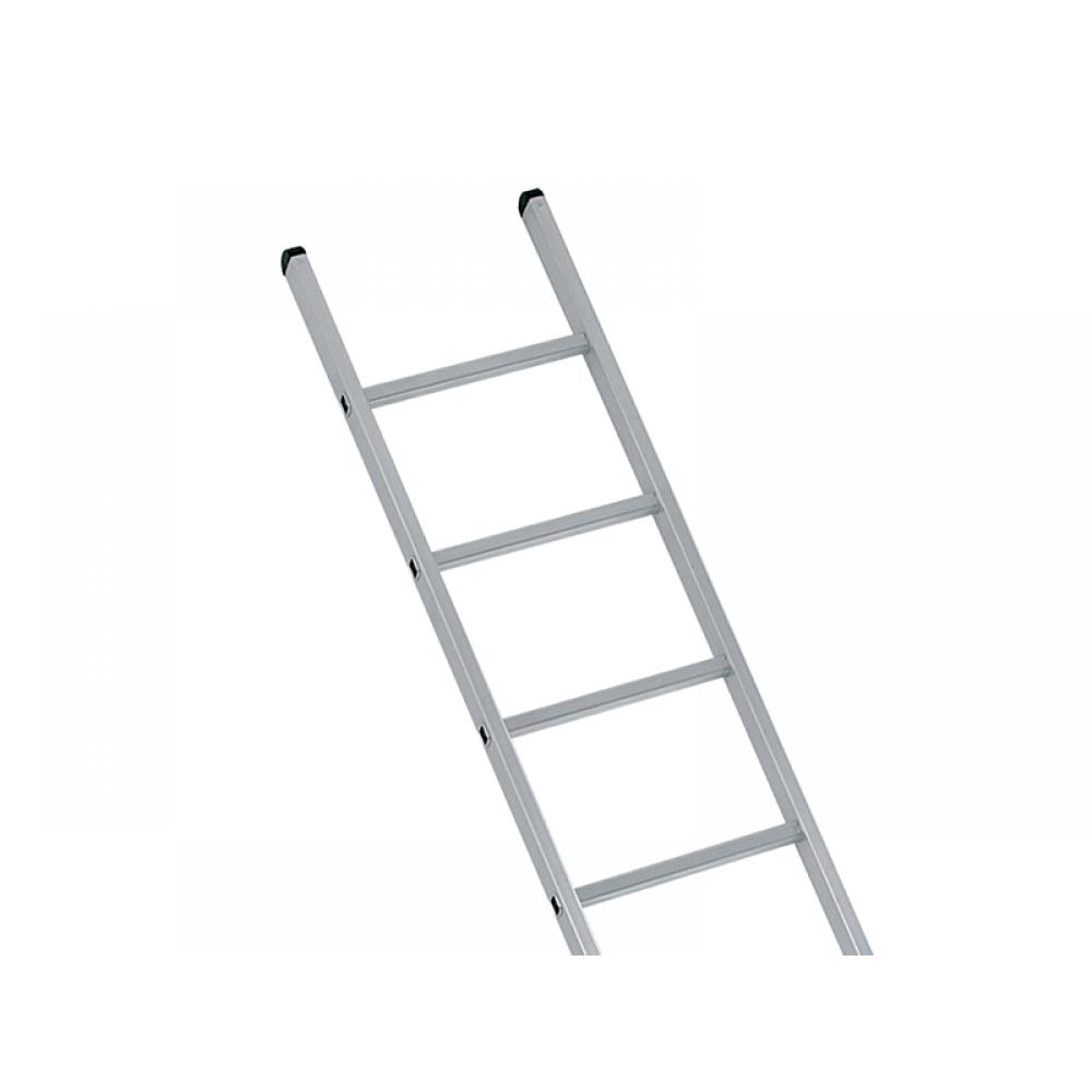 Zarges Industrial Single Aluminium Ladder with Stabiliser Bar 4.17m 14 Rungs